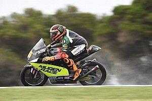 Moto3, Sepang, Libere 1: sull'umido brilla Migno