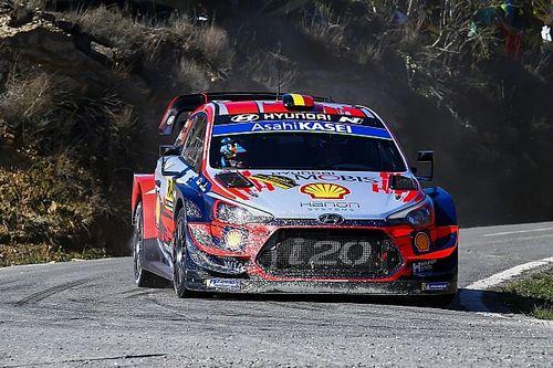 Thierry Neuville chiude in vetta la Tappa 2 del Rally di Catalogna