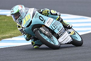 Australia Moto3: Dalla Porta seals title, Canet crashes out
