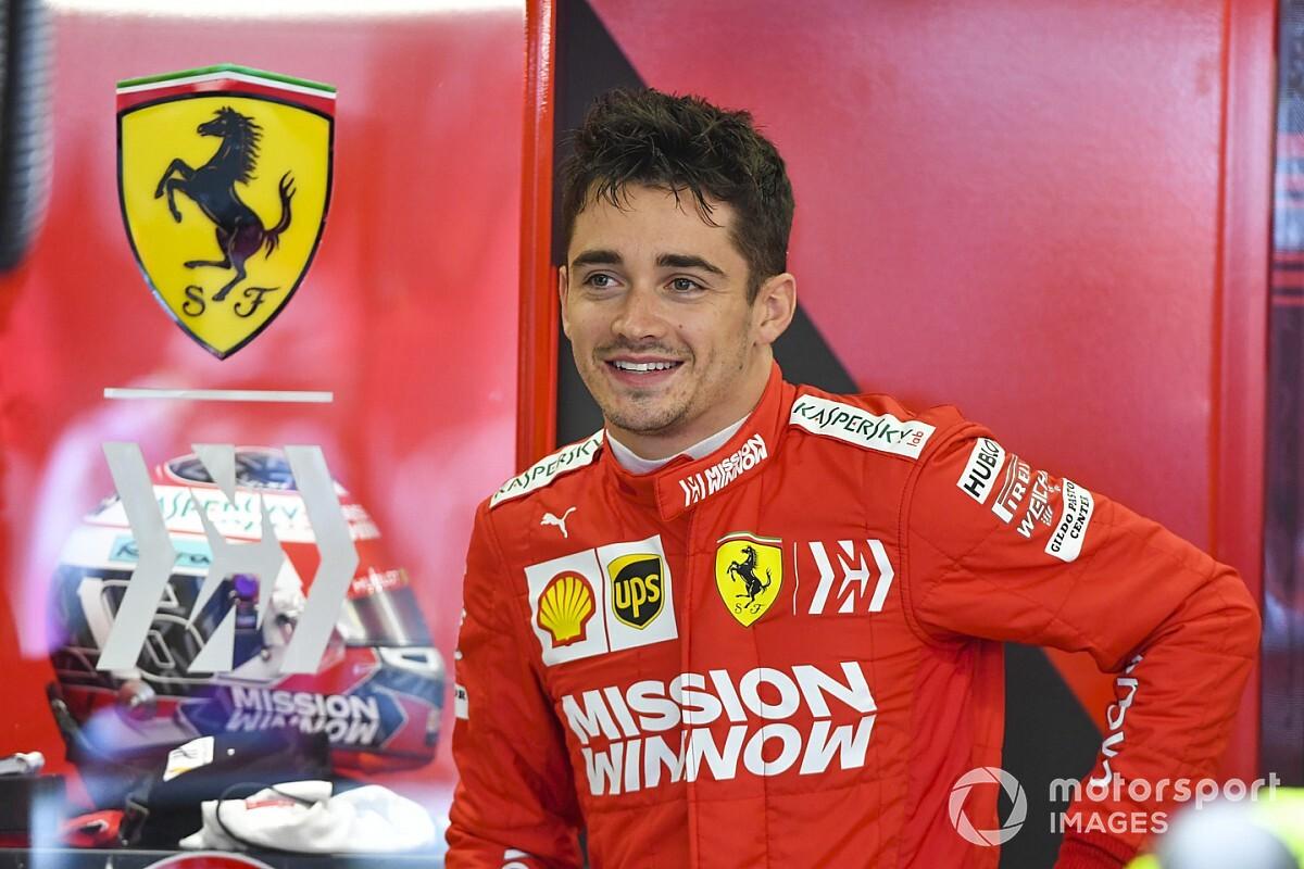 Sanción a Verstappen, pole para Leclerc en México