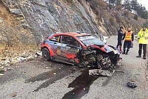 Tanak, Monte Carlo Rallisi'nde kaza yaptı!