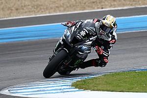 Test Jerez - Rea se montre entre les gouttes