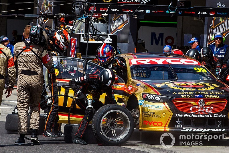 Supercars won't sway to control upright pressure