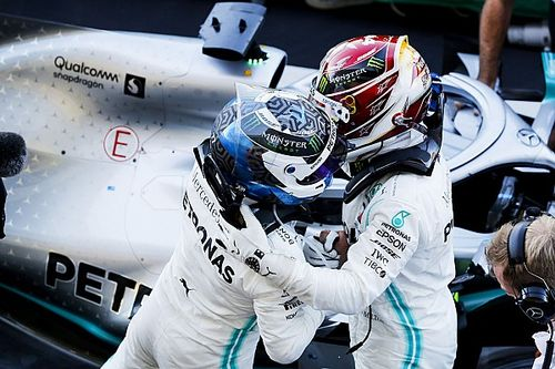 Mercedes overwoog teamorder om Bottas-zege veilig te stellen