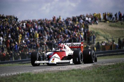 La última victoria de Lauda en la visita final a Zandvoort