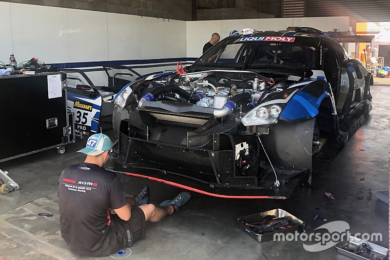 KCMG withdraws crashed Nissan from Bathurst