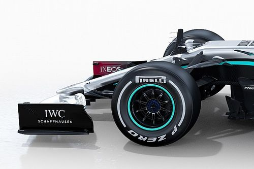 Gallery: Mercedes's new W11 from all angles