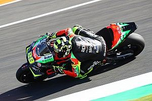"Aprilia's ""extreme"" gearbox solution to blame for fire"