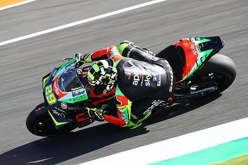 """Aprilia's """"extreme"""" gearbox solution to blame for fire"""