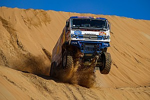 Kamaz scores Dakar 1-2 led by Karginov