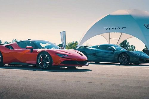 Videó: A Ferrari SF90 Stradale ellen bizonyítja rátermettségét a Rimac Nevara