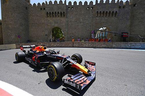 Verstappen begint F1-weekend in Baku met snelste tijd