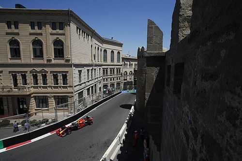 F1 Azerbaijan Grand Prix practice results: Perez fastest in Baku