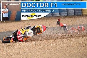 """Ceccarelli: """"La caduta degli Dei in MotoGP: Marquez come Valentino?"""""""