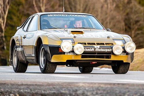 Walter Röhrl retrouve la Porsche 924 Carrera GTS Rally