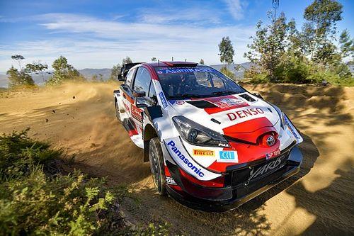 Evans manda en el shakedown del Rally de Portugal 2021