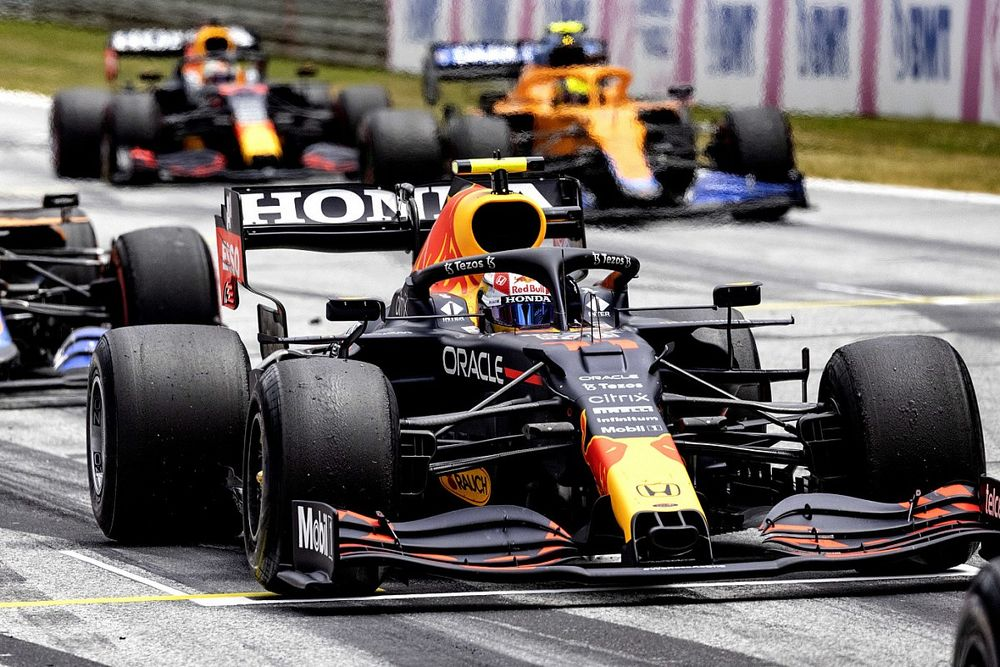 Норрис на первом ряду: стартовая решетка Гран При Австрии