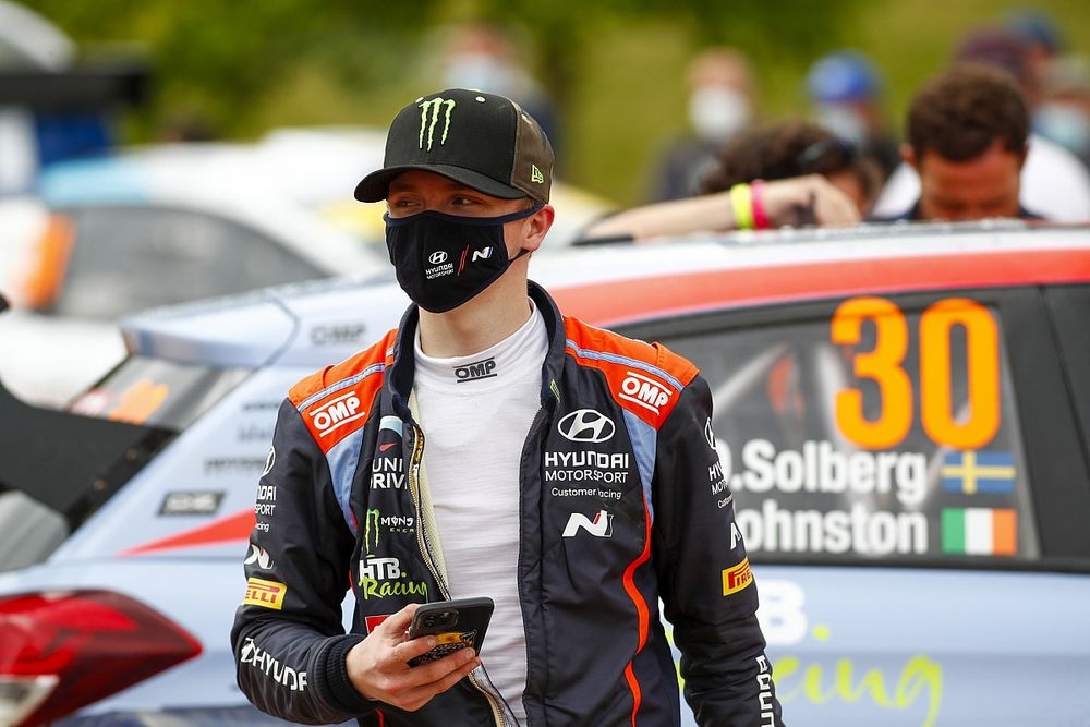Oliver Solberg secures Hyundai WRC return in Spain