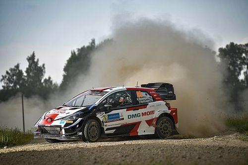 WRC Estonia: Rovanpera extends lead to close in on victory