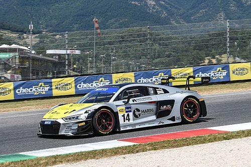 Nieudany wyścig Basza w GT Italia