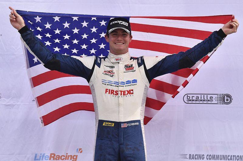 Mid-Ohio Indy Lights: Kirkwood supreme again, earns sixth win