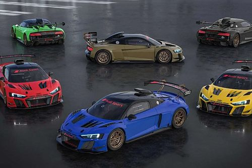 Hat, különleges festésű R8 LMS GT2-t mutatott be az Audi