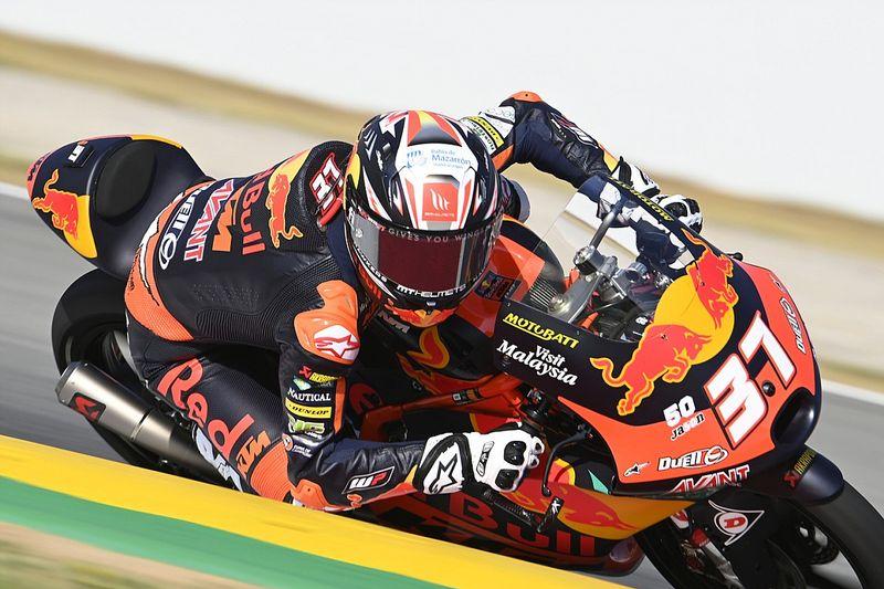 Moto3, Germania, Libere 2: ruggito di Acosta davanti a Rodrigo