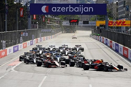 F1: Verstappen mantém liderança após Baku; Bottas cai para o 6º lugar