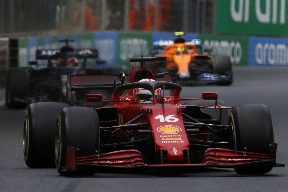 Leclerc lost race lead to Hamilton after avoiding tree branch