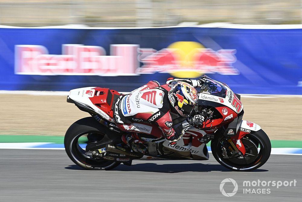 Nakagami 'cried' after missing maiden MotoGP podium at Jerez