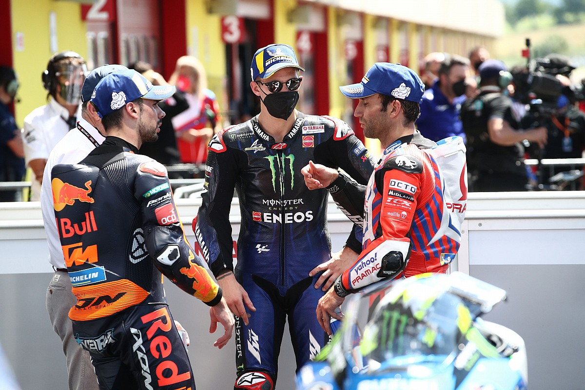 "Quartararo: Mugello win ""not a great feeling"" after Dupasquier death"