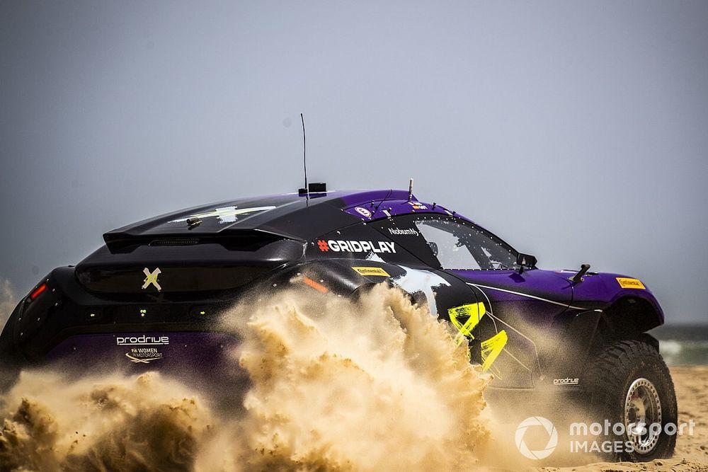 エクストリームE、第2戦セネガル予選はルイス・ハミルトンの『X44』チームが制す