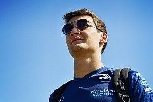 """Russell, Silverstone'daki sıralama turlarında """"çok büyük bir adım'' attığını düşünüyor"""