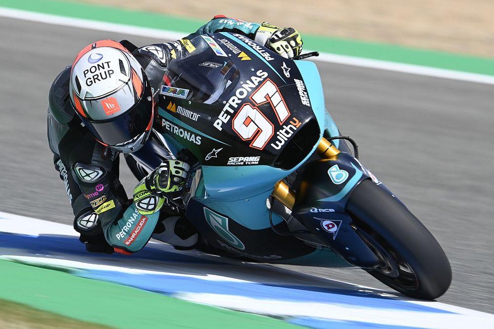 Moto2のジャビ・ビエルヘ、次戦アラゴンGPでモルビデリ代役オファー断る。ディクソン継続起用か?
