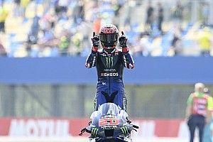 MotoGP Assen: Hollanda'da zafer Quartararo'nun, Yamaha duble yaptı