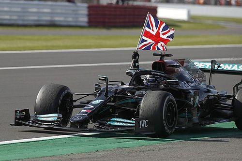 Hamilton gana en Silverstone con controvertido accidente con Verstappen