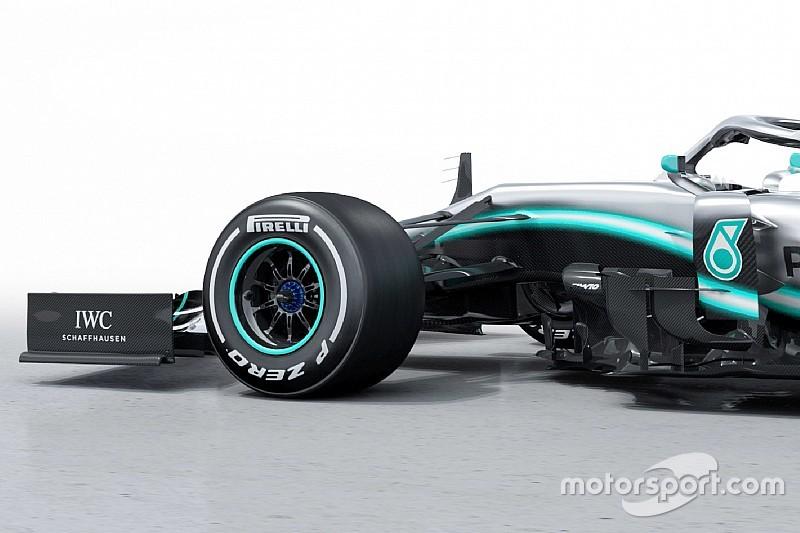 Képgaléria a Mercedes 2019-es F1-es autójáról: W10