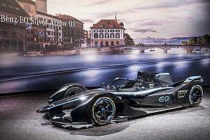 Mercedes dévoile une livrée pour son écurie de Formule E