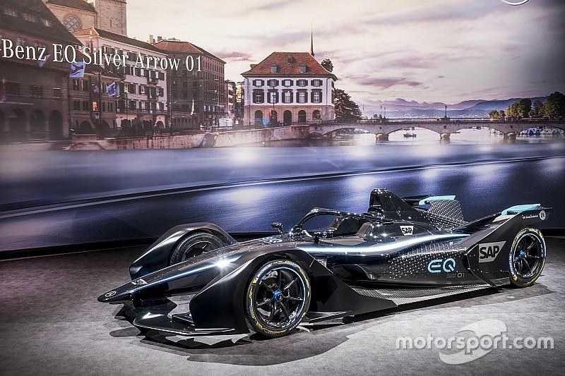 Il team Mercedes svela una livrea concept in vista del suo esordio in Formula E