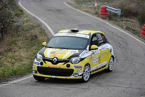 Trofeo Twingo R1: Catalini centra il successo al 40° Rally Appennino Reggiano
