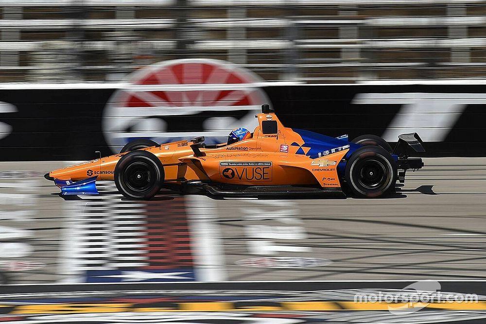 """Alonso espera que Indy """"sea más complicado"""" tras su test"""