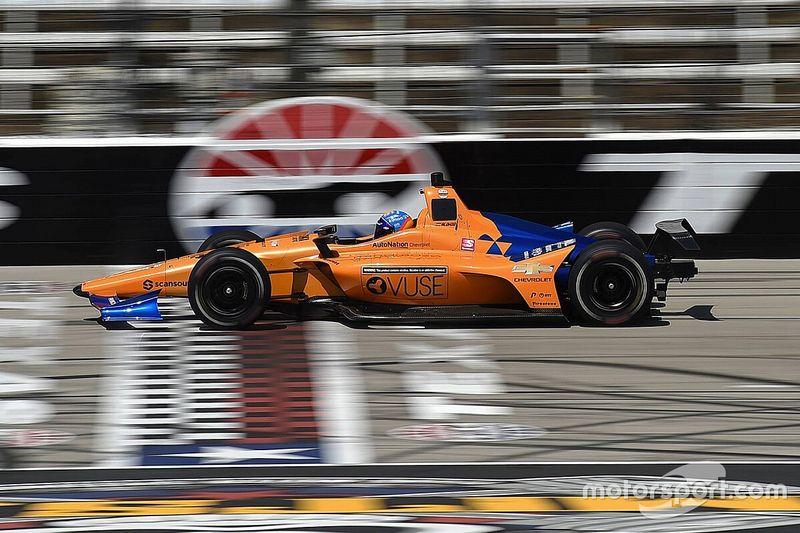 Alonso tuntaskan tes IndyCar di Texas
