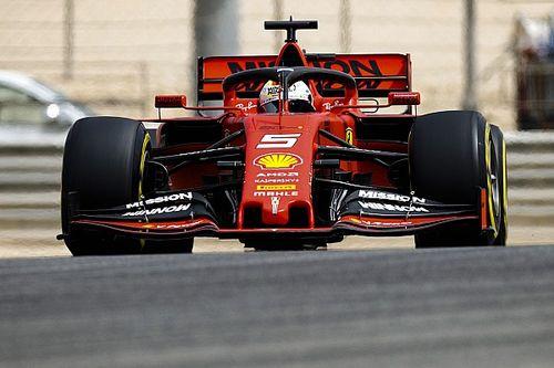 Vettel sets morning pace in Bahrain F1 test