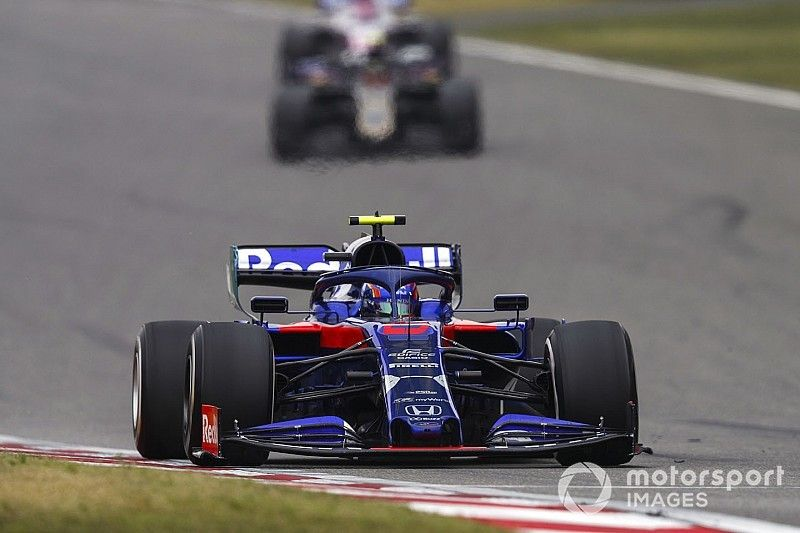 """Tost urged Albon to be """"very aggressive"""" in Chinese GP"""