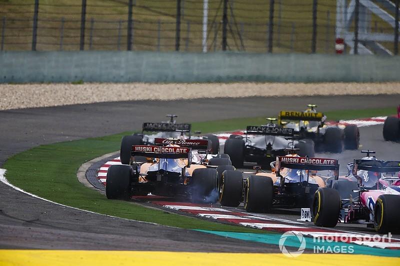Video: Kvyat'ın ilk turda McLaren sürücüleriyle yaşadığı temas