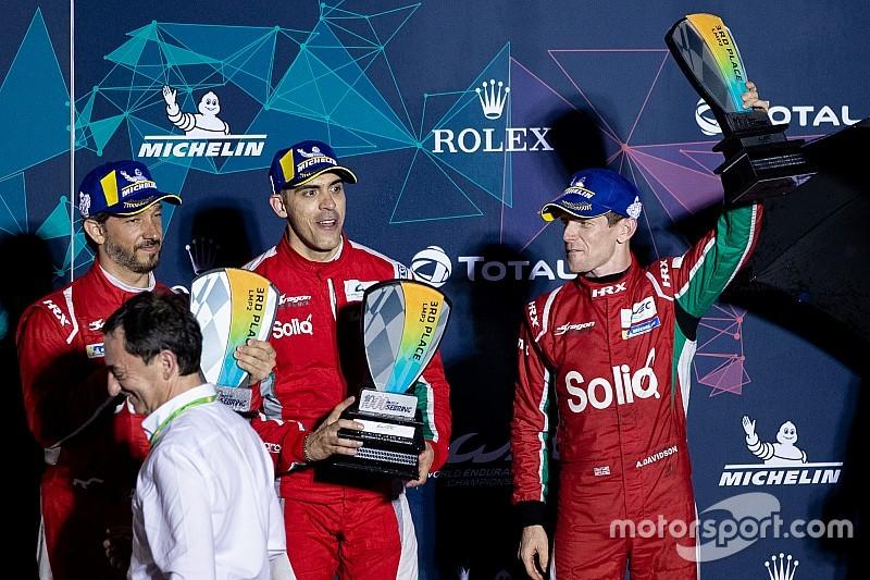 Maldonado e Davidson correranno con Jota Sport nella stagione 2019/2020 del WEC