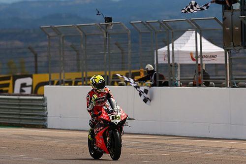 SBK, Aragon: Bautista trionfa e regala a Ducati la vittoria numero 350