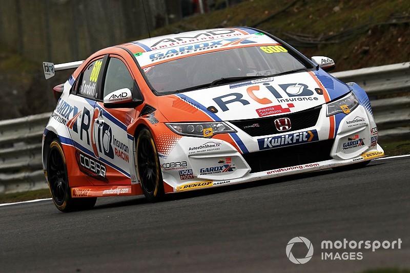 Thruxton BTCC: Tordoff on pole as Blundell and Chilton collide