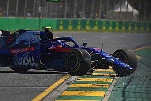 Albon: Inexperience played part in practice crash