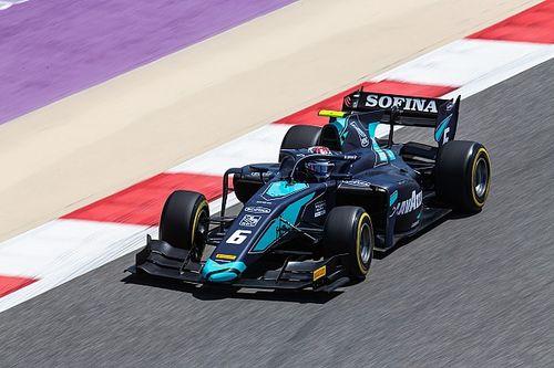 F2開幕戦バーレーンレース1:ラティフィ優勝。松下は最終周にシューマッハーにかわされ9位